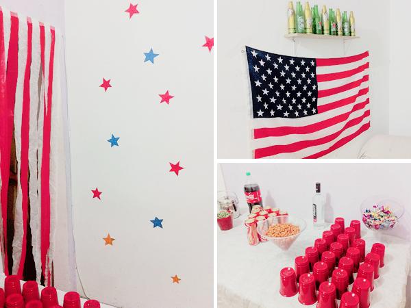 decoracao festa americana - Como fazer festa americana