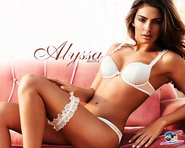 Alyssa Miller bikini wallpaper