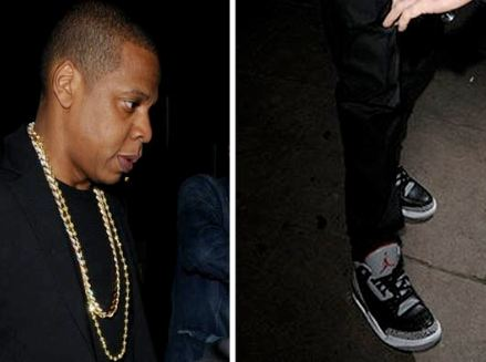 2a9e239ddeb ... denmark here is some new images of jayz rockin a classic pair of air jordan  black ...