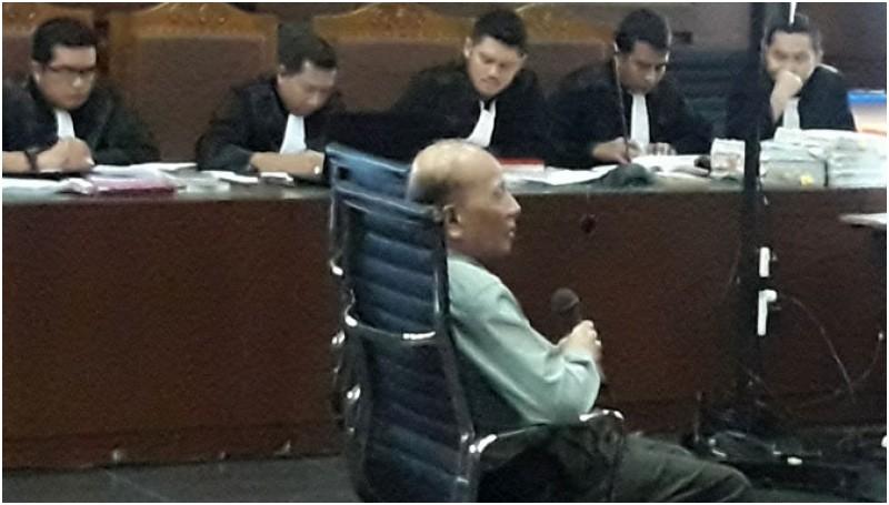Ahli pidana dari Universitas Brawijaya, Masruchin Ruba'i di PN Jakpus