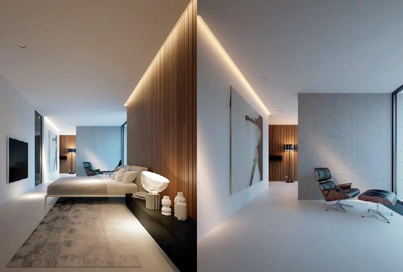Iluminazione casa: faretti da incasso e strisce led dettagli home