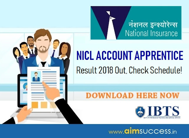 NICL Account Apprentice Result 2018 Out, Check Schedule!