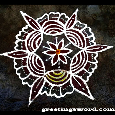 Diwali festival, Simple Rangoli Designs for  Beginners,