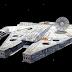 Halcon Milenario para los fanaticos de Star Wars