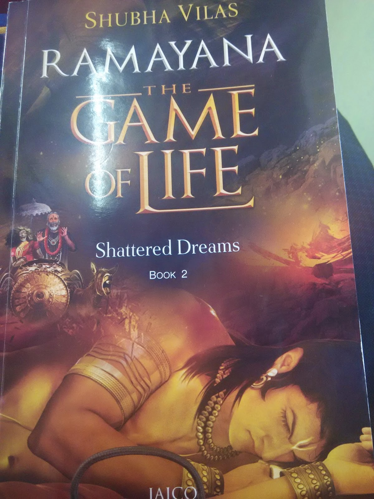 Book Review: Ramayana - The Game of Life, Shattered Dream