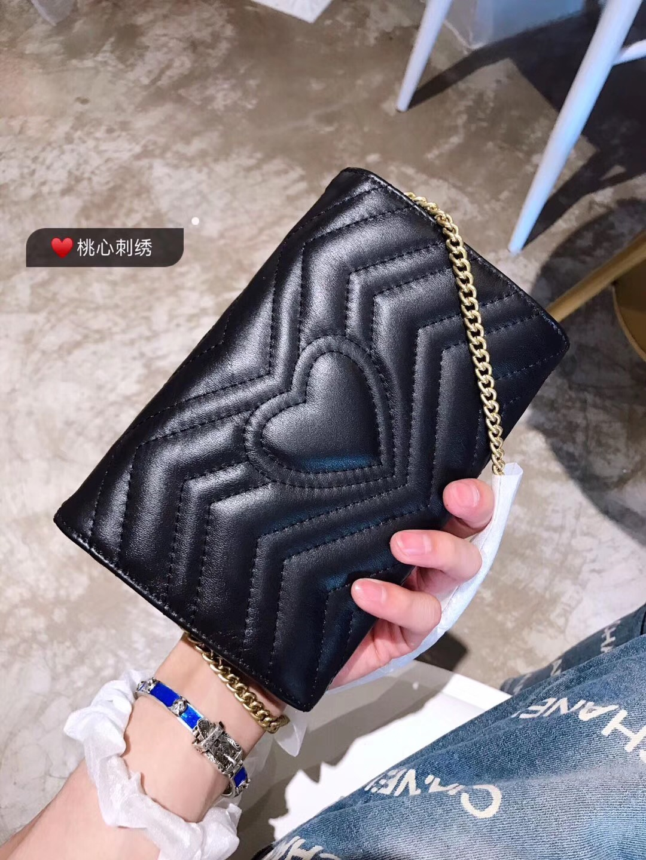 91dd0c00476 GUCCI GG Marmont Matelassé Mini Bag Style 474575 DRW1T 1000. Order Code   FTFZ1503680419