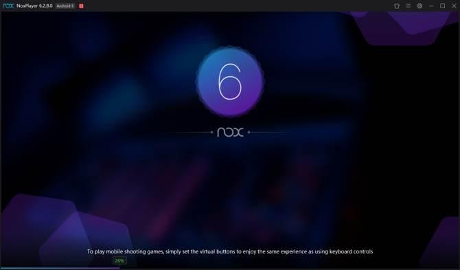 nox menjalankan aplikasi android windows 10 memuat pertama