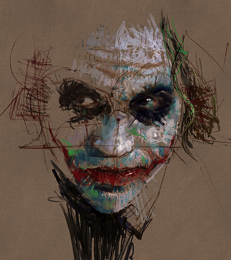 Portrait 218 - The Joker