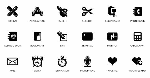 Userscode: Vector Plastique Icons