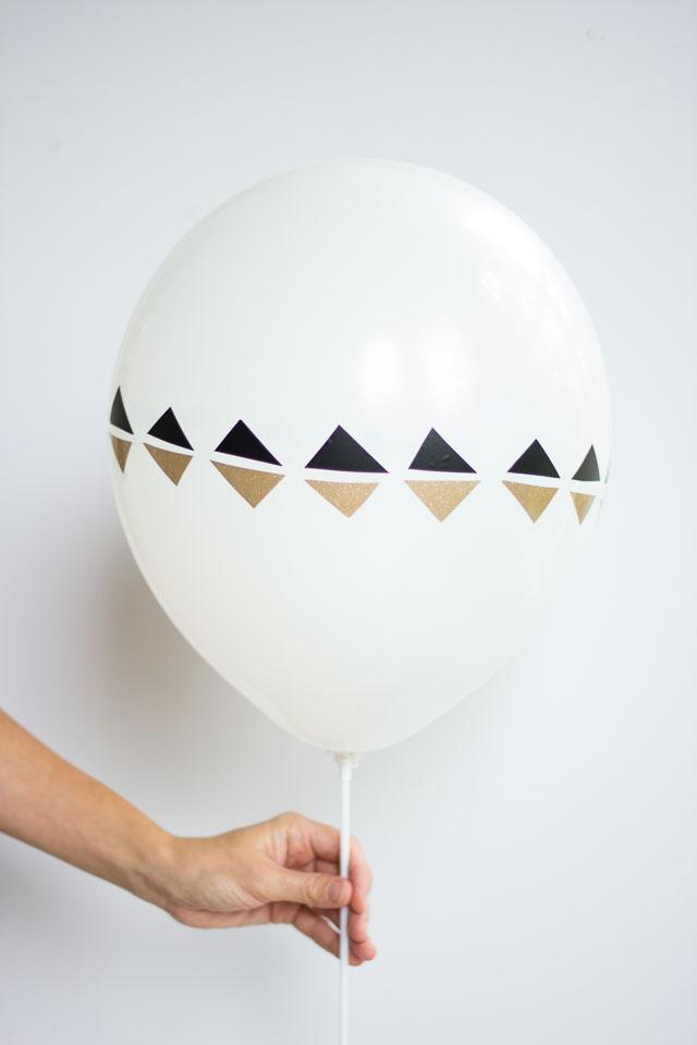 diy modern balloons