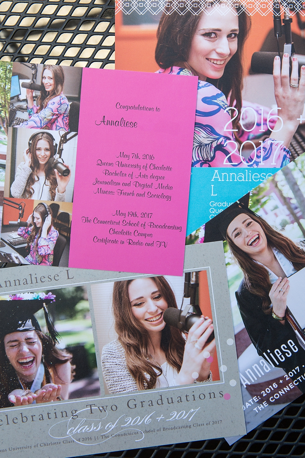 celebrating graduation with announcements