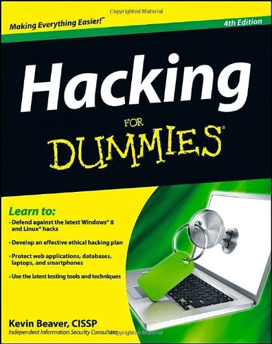 كتاب  Hacking for Dummies نسخة انجلزية و توجد الفرنسية