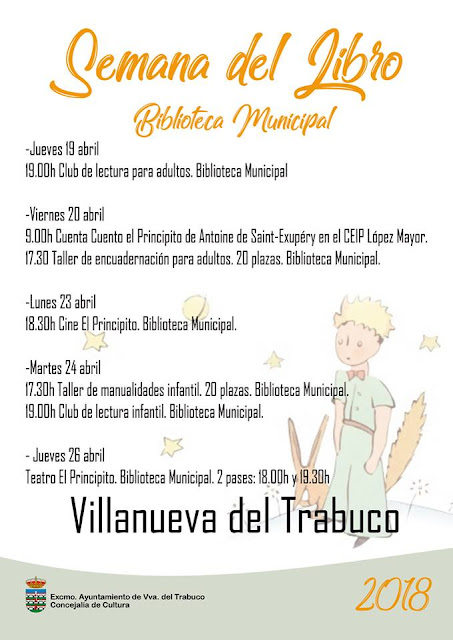 Semana del Libro en Villanueva del Trabuco