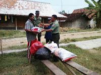 Tanggap Musibah, TNI Ikut Berikan Bantuan