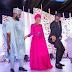 Check-Out This Beautiful Photo Of Dangote's Daughter, Fatima & Her Husband Dancing Shaku Shaku At Their Wedding