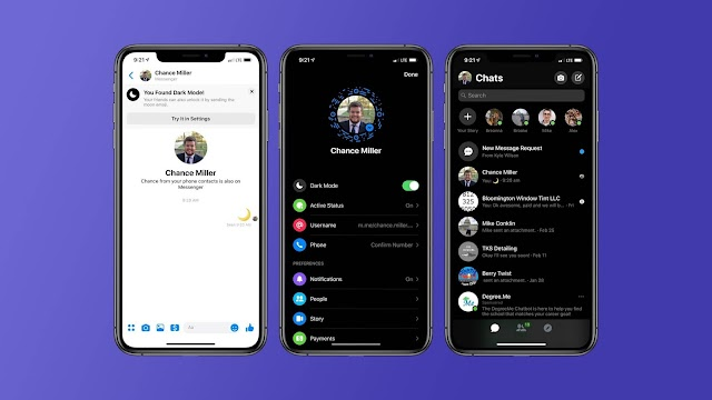Facebook Messenger on iOS Easter egg to enable hidden Dark Mode interface, here's how to enable it