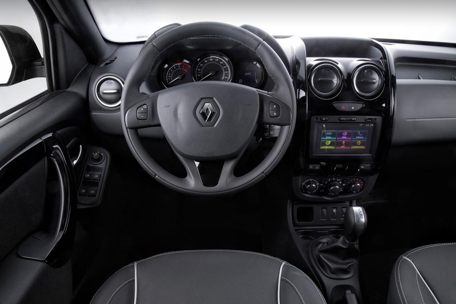 Linha renault duster 2017 est mais econ mica oroch ganha c mbio autom tico - Dacia duster 2017 interior ...