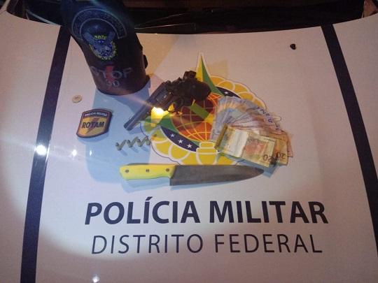 PMDF prende suspeitos de roubos em coletivos em Ceilândia