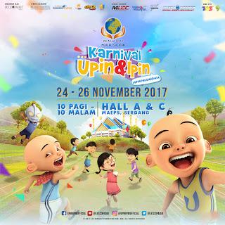 Temui Upin & Ipin bersama rakan-rakan mereka yang lain di Karnival Upin & Ipin 2017