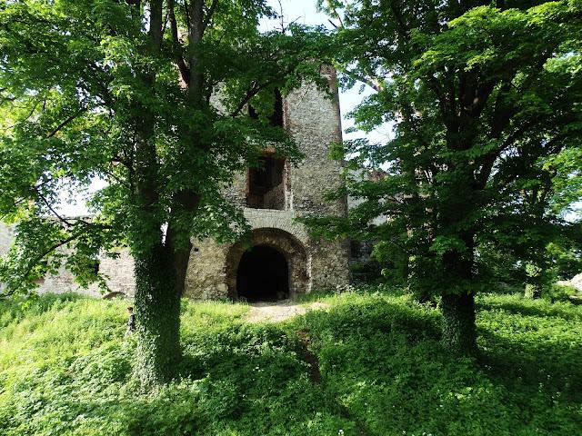 Nieoficjalne wejście na zamek w maju 2016