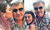 """Veronica Satti ritrova il padre Bobby Solo: """"Finalmente insieme!"""""""
