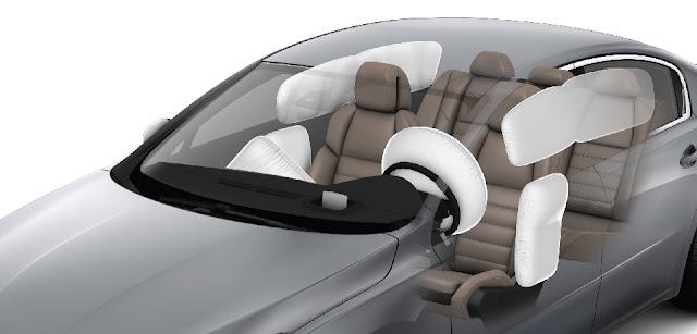 Peugeot 508 được trang bị 6 túi khí an toàn tuyệt đối cho người lái và hành khách trên xe