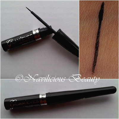 9cadcd55f45 Review: Rimmel London Glam'Eyes Professional Liquid Liner in Black Glamour