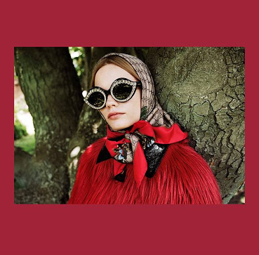 The Gucci Garden 2016 Ad Campaign - Eyewear