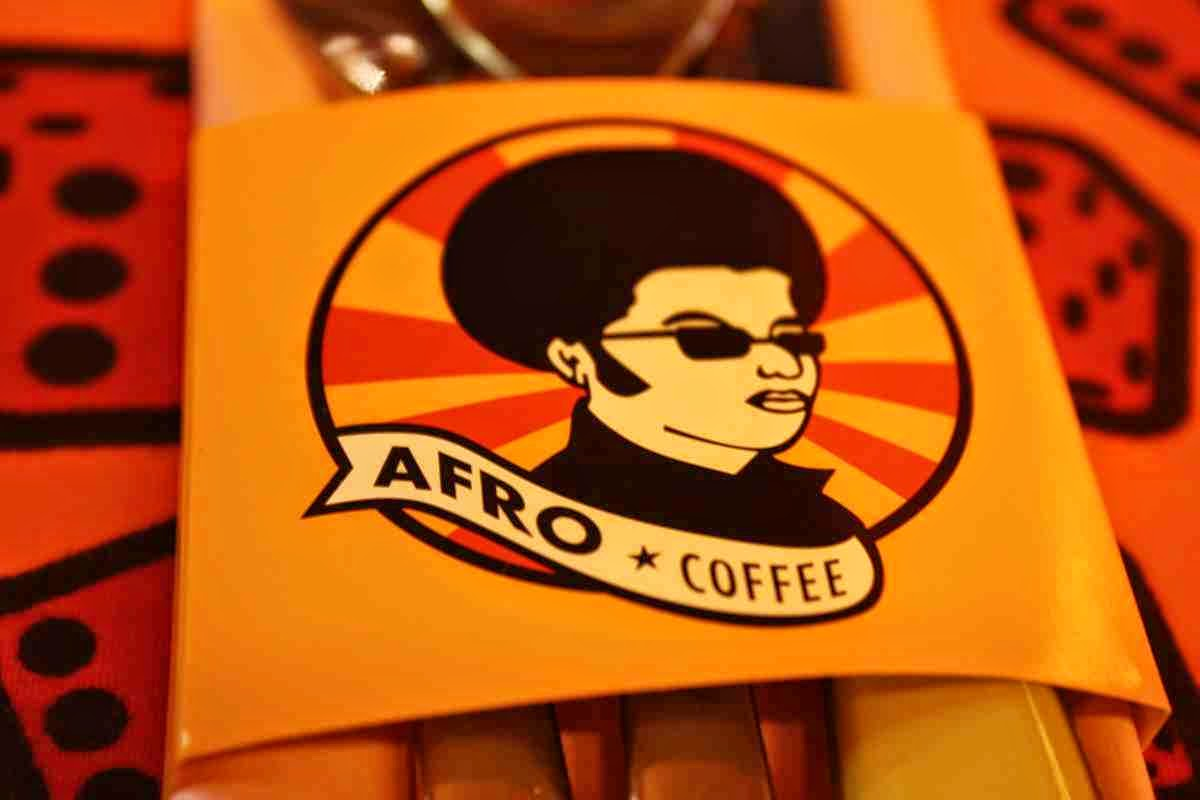 Funky Africa in the Afro Cafe in Salzburg - eating like in South Africa