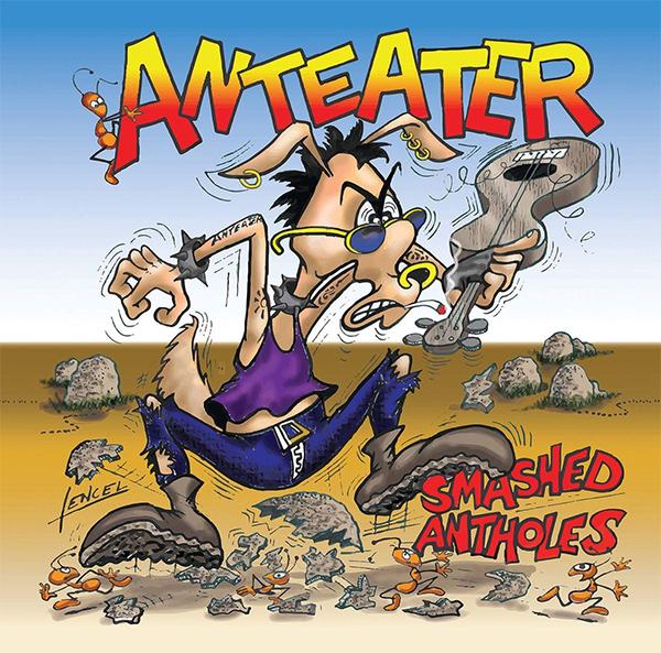 """AntEater stream new EP """"Smashed Antholes"""""""