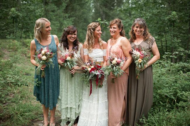 Australian Rustic Wedding Barn Bridesmaid Dress 9 | bridal trend