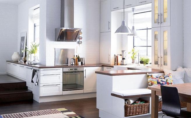 10 salones donde se integra la cocina y el comedor for Decoracion cocinas integradas