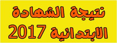 نتيجة الشهاده الابتدائيه لمحافظة الشرقيه 2017 الترم الثانى برقم الجلوس