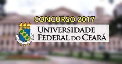 Concurso UFC 2017 - Universidade Federal do Ceará