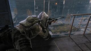 снайпер на позиции в игре варфейс