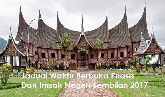 Waktu Berbuka Puasa Dan Imsak Negeri Sembilan 2017