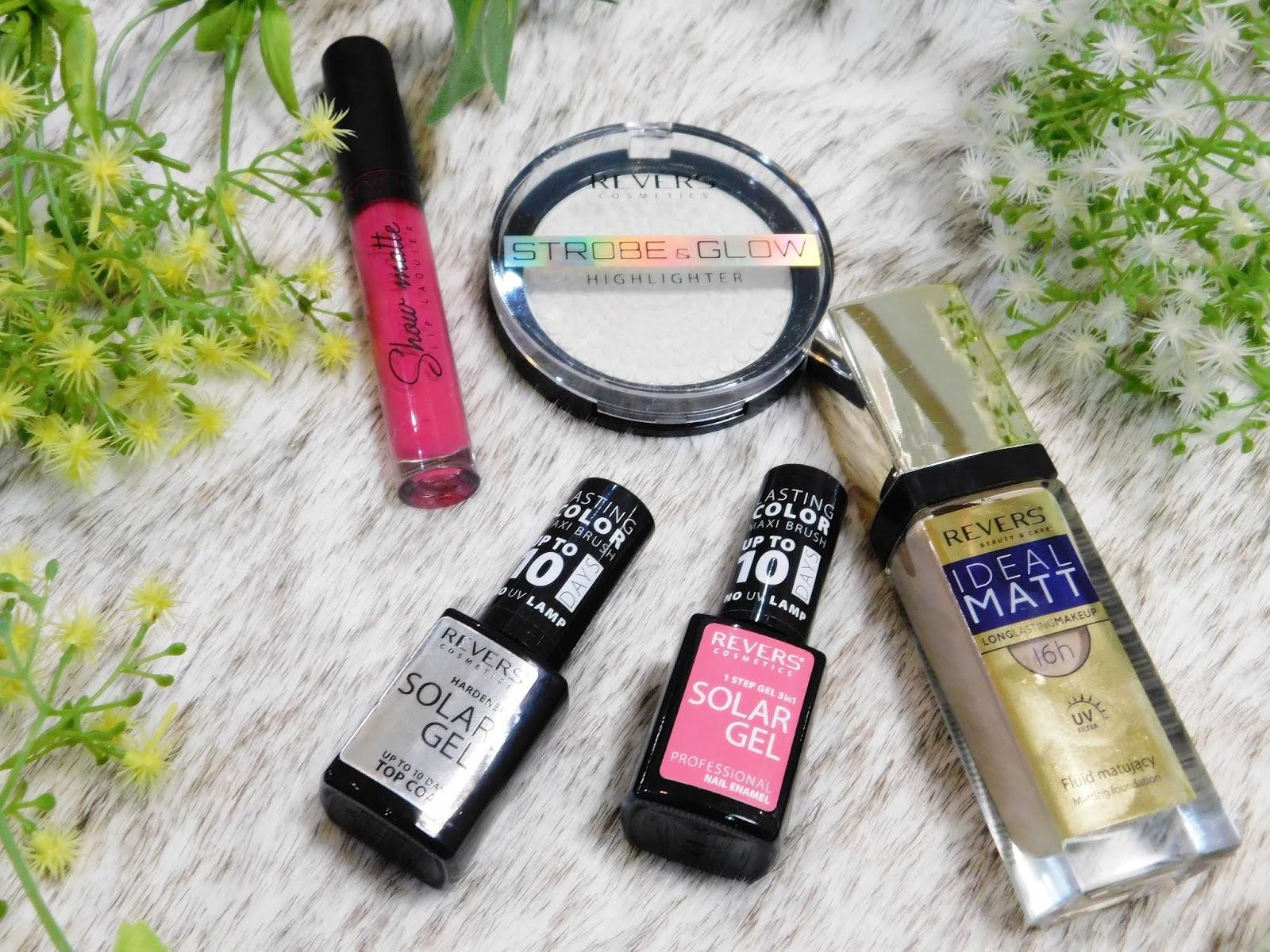Nowości makijażowe od Revers Cosmetics