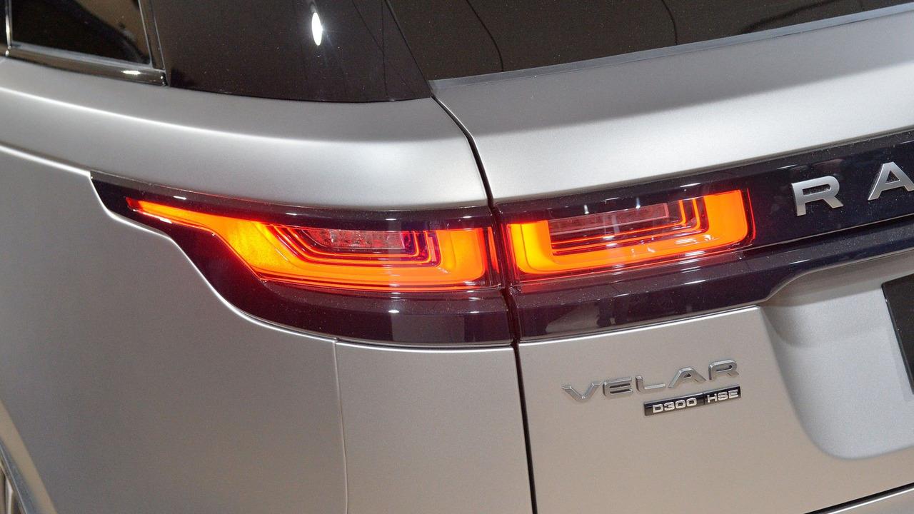 Đèn Led của mẫu xe velar