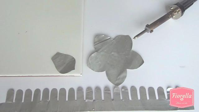 Fiorella flores en tela - Listones de aluminio ...