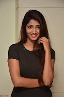 Priya Vadlamani super cute in tight brown dress at Stone Media Films production No 1 movie announcement 012.jpg