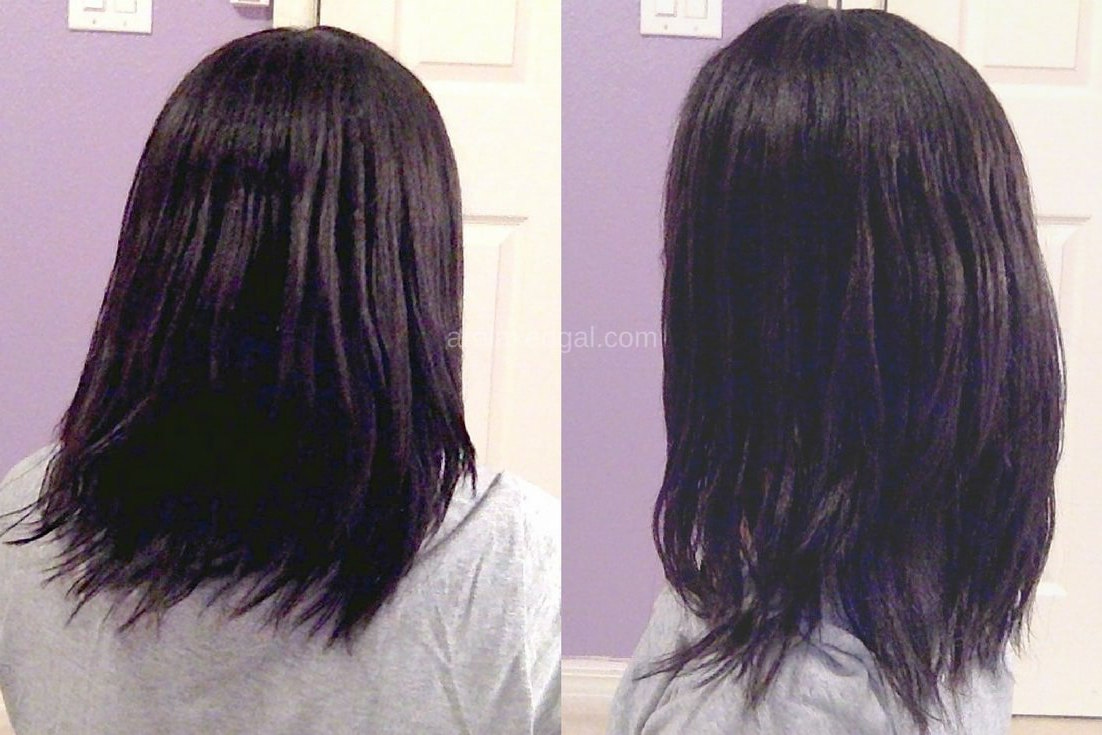 Relaxed Hair Wash Day: 4 Weeks Post Relaxer Touch Up   arelaxedgal.com