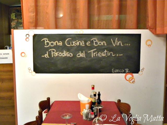 """Osteria """"Al Tempo Perso"""" a Trieste"""