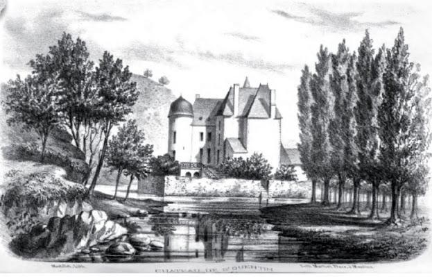 patrimoine de l'Allier château de saint Quentin