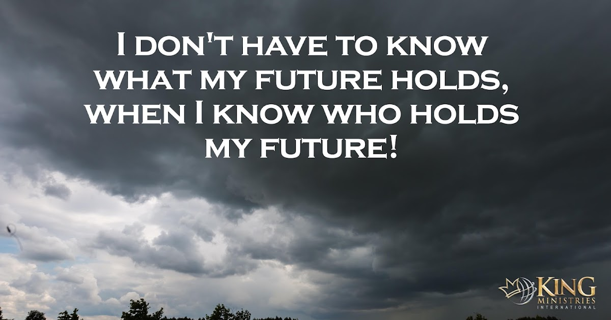 King Ministries International: I dont have to know what