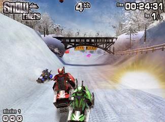 لعبة سباق درجات الجليد Snow Riders 3D اون لاين