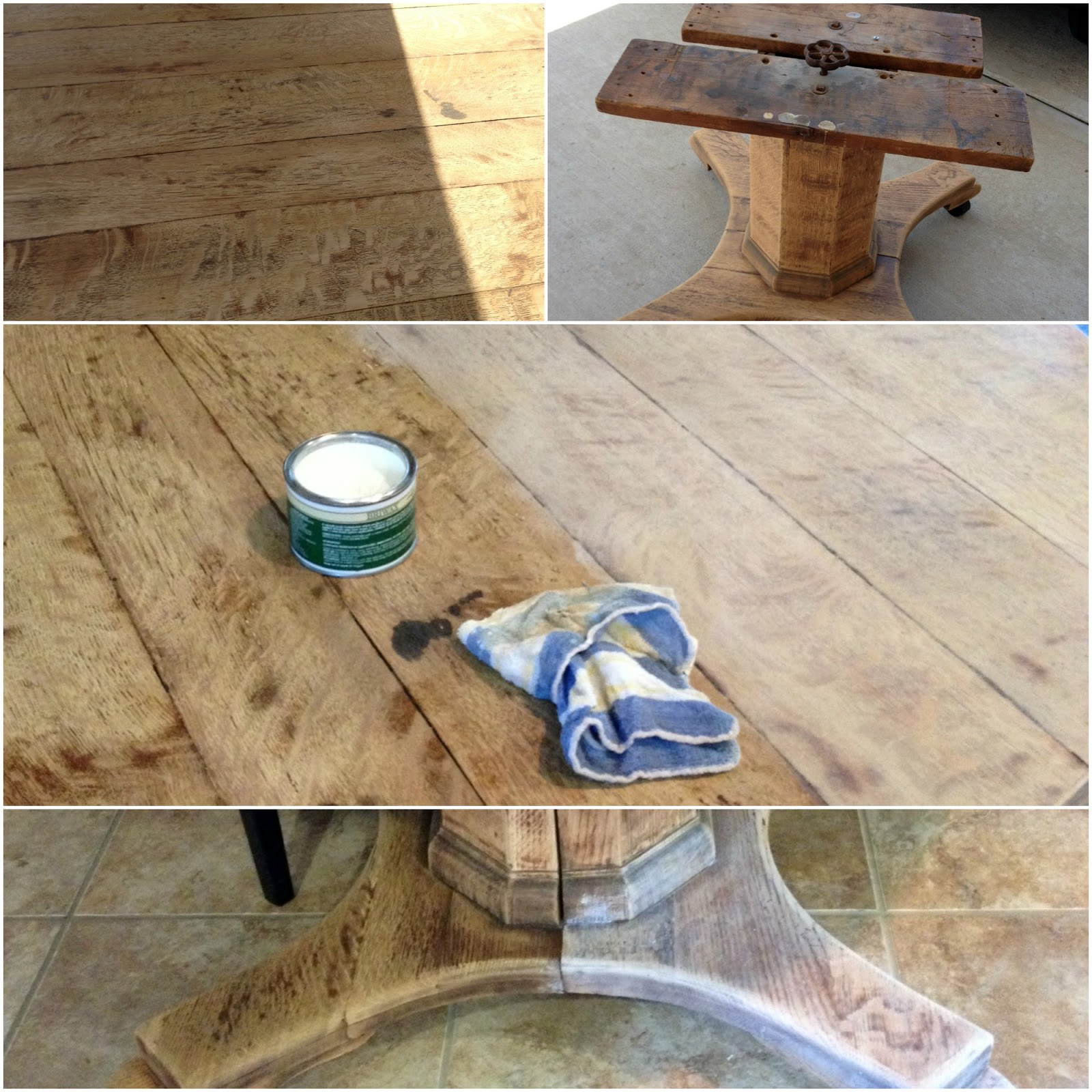 Bleached Wood Look With Liming Wax Crazy Wonderful