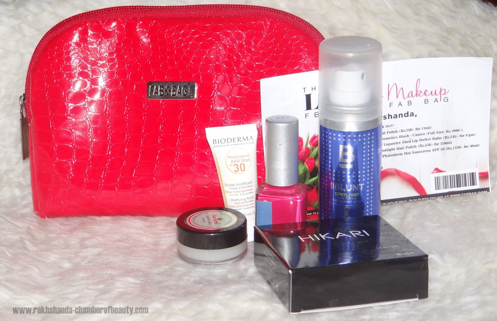 Fab Bag Unboxing, Fab Bag February 2016 Review & Photos