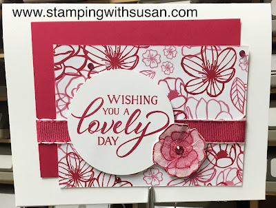 Stampin' Up!, www.stampingwithsusan.com, Forever Lovely, All My Love Ribbon Combo Pack, 2019 Occasions Catalog