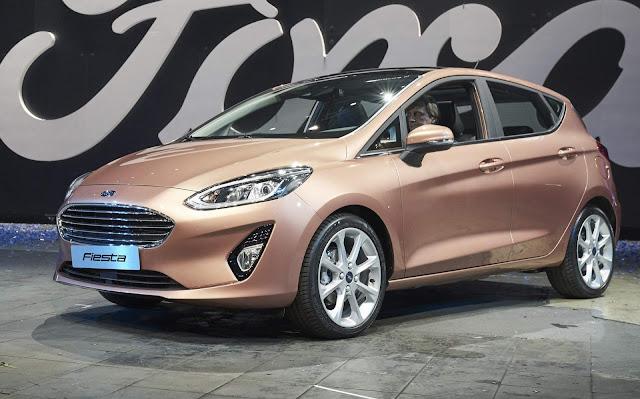Novo Ford Fiesta Titanium 2018