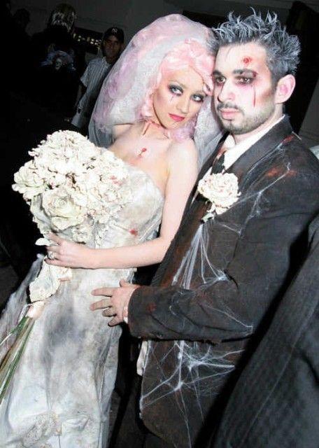 noiva cadáver Halloween
